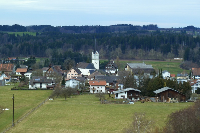 Frühling in nördlichsten Gemeinde Vorarlbergs - Hohenweiler