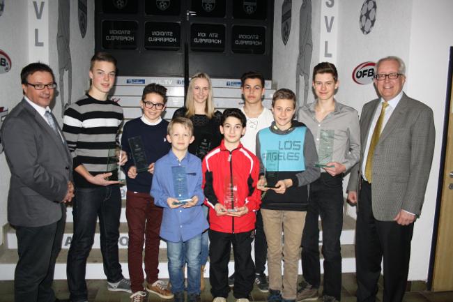 Sportlerehrung der Gemeinde Lochau 2015 BU 1