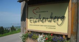 Eichenberg Ortsschild 2015