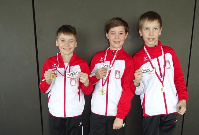 Lochau Leichtathletik CROSSLAUF Landesmeister März 2016
