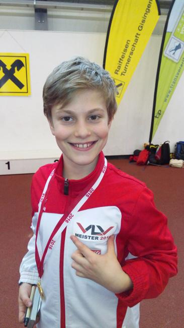 VLV-Titel für den jungen Lochauer Leichtathleten Leon Fürpass