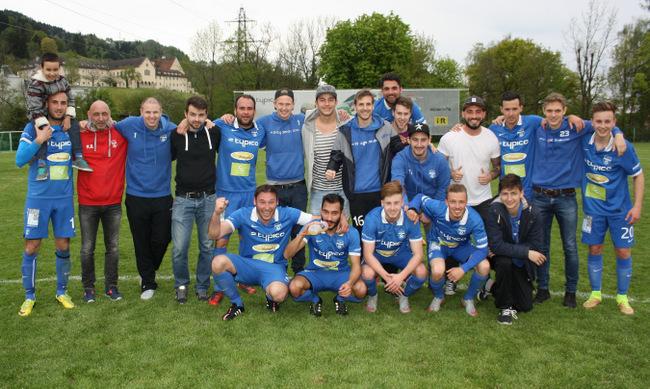 SVL Sieg gegen Nenzing 2016