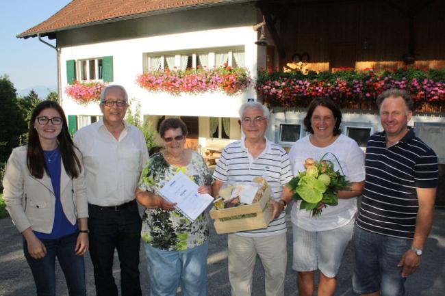 Gästeehrung SCHROLL bei Kaufmann 2016