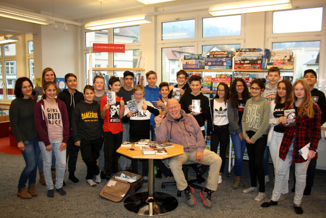 Lochau Bücherei LESUNG EGLI 2017