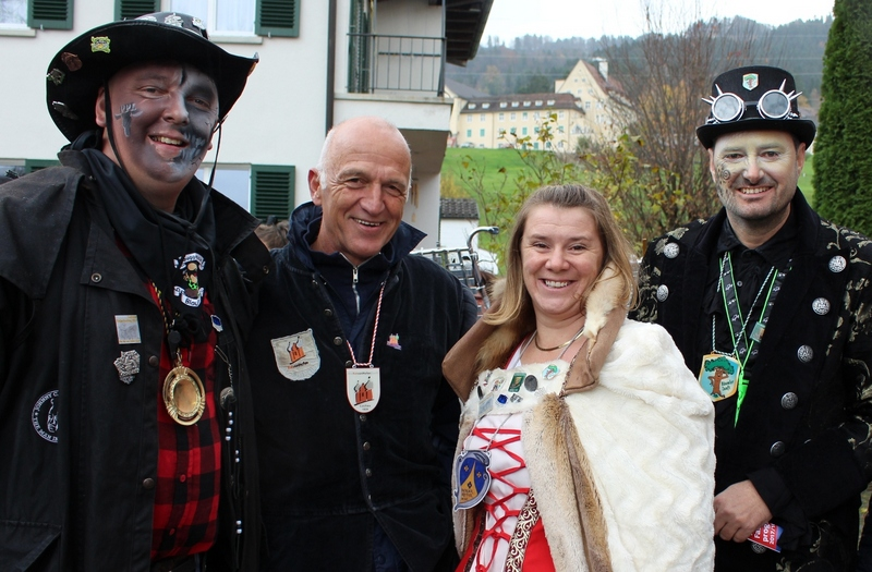 Lochau Fasching UMZUG ZÜNFTE als Organisatoren 2018
