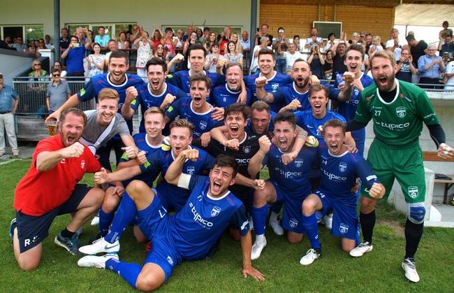 Lochau Fußball Aufstieg 2018