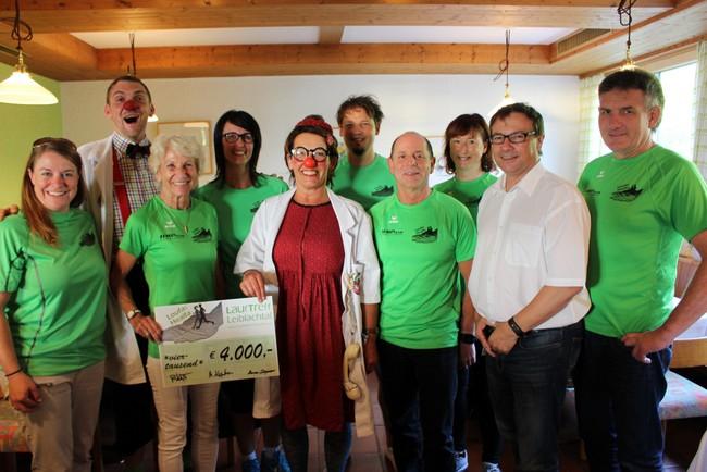 Lauftreff Spendenübergabe 2018