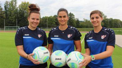 Bild von Mädchen an den Ball Training startet am 11. September 2020
