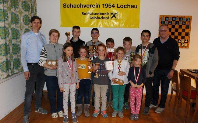Schachverein Nachwuchsturnier 2019