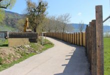 Sperre Fuß- und Radweg Lochau 2019