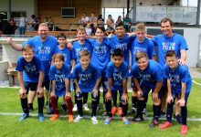 Lochau Fußball NACHWUCHS U12 A Meistertitel Juni 2019