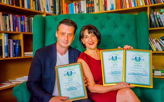 Health and Spa Award web