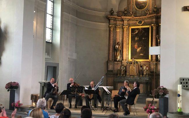 Schrammel-Quintett in Lochau 2019