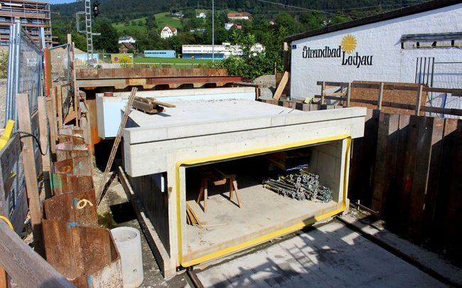 Lochau die Bahnstrecke wird gesperrt 2019