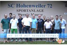 Vorstand SC Hohenweiler