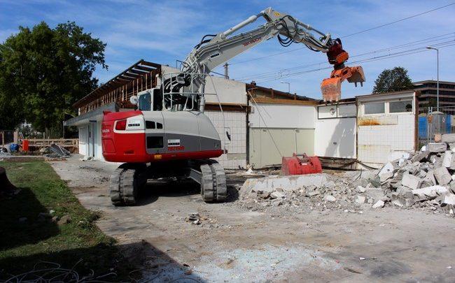trandbad Lochau NEU Bauarbeiten begonnen