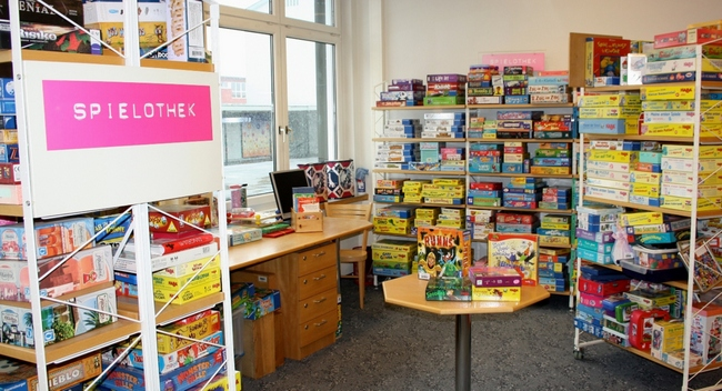 Bücherei Spielothek Projekte 2019