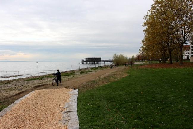 Sperre und Umleitung Strandbad Lochau 2019