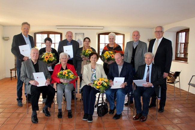 Lochau Hochzeit Jubiläum FEIER Jänner 2020