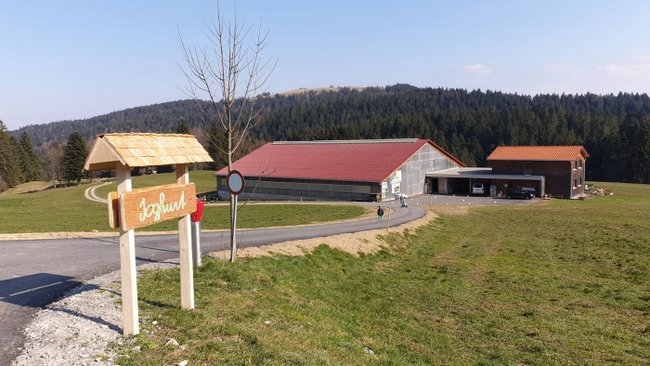 BERGBAUERNHOF Fessler in Eichenberg
