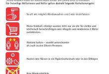 Photo of Corona-Virus Merkblatt für Helferinnen und Helfer in den Gemeinden