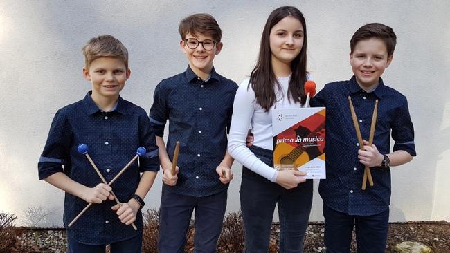 Jungmusikanten bei Prima la musica