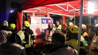 Photo of Bericht der Feuerwehr Hörbranz