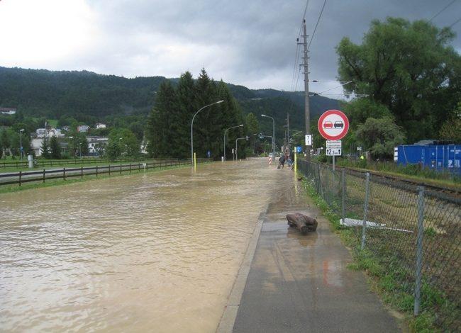 Oberlochauerbach Hochwasser Juli 2010