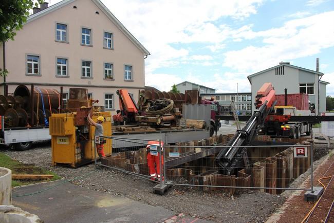 Baustellen Oberlochauerbach und Kugelbeerbach