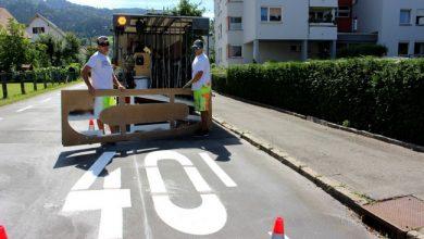 Bild von Erneuerung der Straßenmarkierungen zur Verbesserung der Verkehrssicherheit