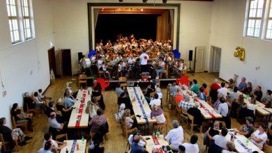 """Photo of Ferienlager mit """"COVID-19-Abstand-Abschluss-Konzert"""" der Jungmusik Lochau"""