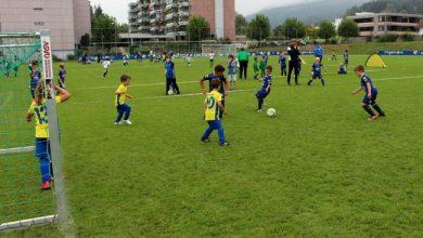 U7-Fussball Turnier im Stadion Hoferfeld