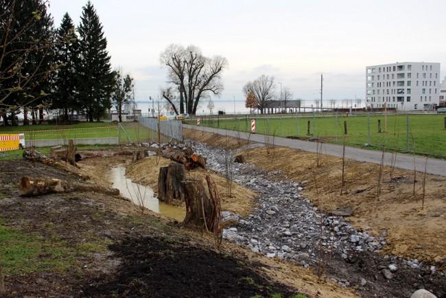 Hochwasserschutzbaustellen vor erstem Abschluss
