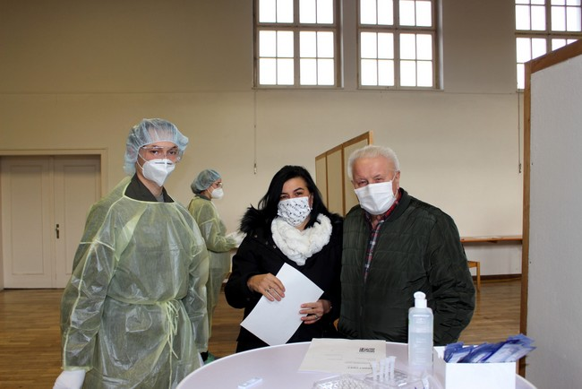 COVID-19-Test-Stationen im Leiblachtal