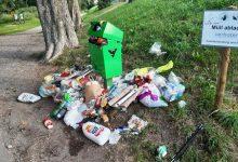 Abfallhaufen Schwarzbad