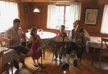 Lochauer Musikanten bei der Vorarlberger Blasmusikklangwolke