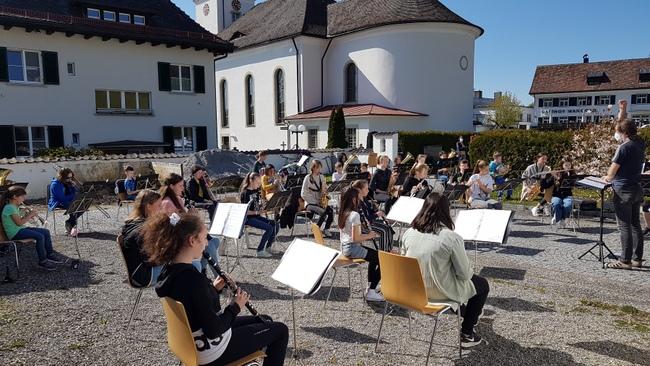 Musikverein Lochau Probenauftakt