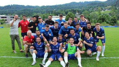 SV typico Lochau Sieg gegen Bezau im Cup-Halbfinale