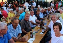 MV Lochau Feiern mit 3G-Sicherheit beim kleinen Dorffest