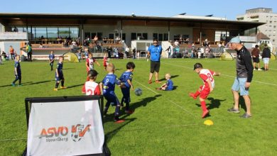 Erfolgreicher U7 und U8 Nachwuchs-Turnier-Tag im Stadion Hoferfeld in Lochau