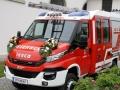Feuerwehrfahrzeugweihe in Eichenberg 2018 (1)