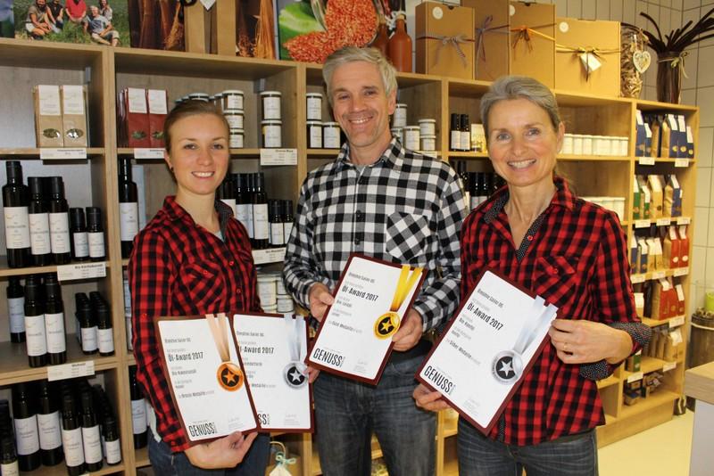 Ölmühle SAILER Auszeichnungen 2018 (1)